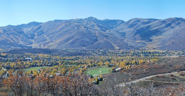 Panoramw of the Wasatch Mountains from Summit County