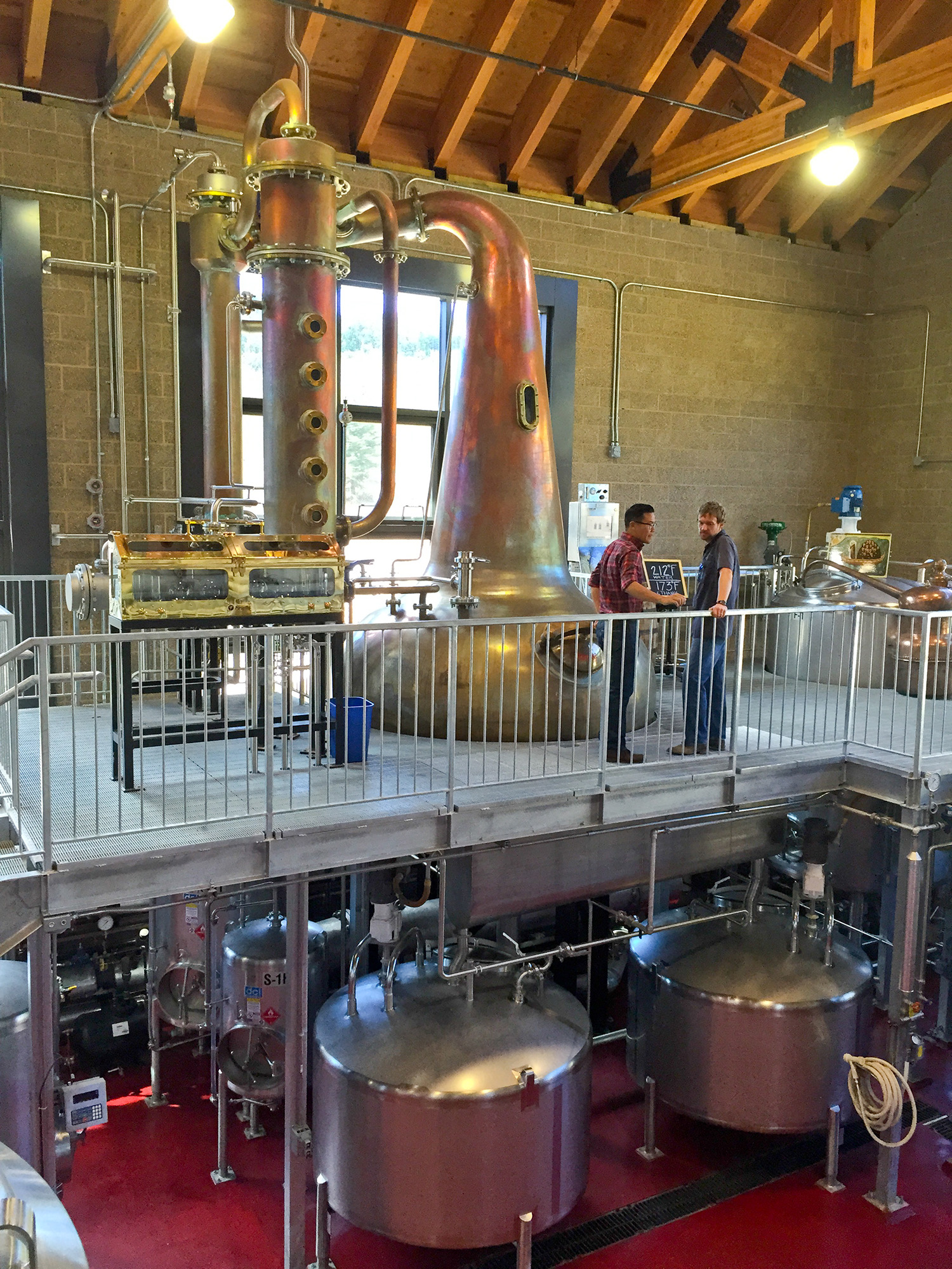 New still at High West Whiskey