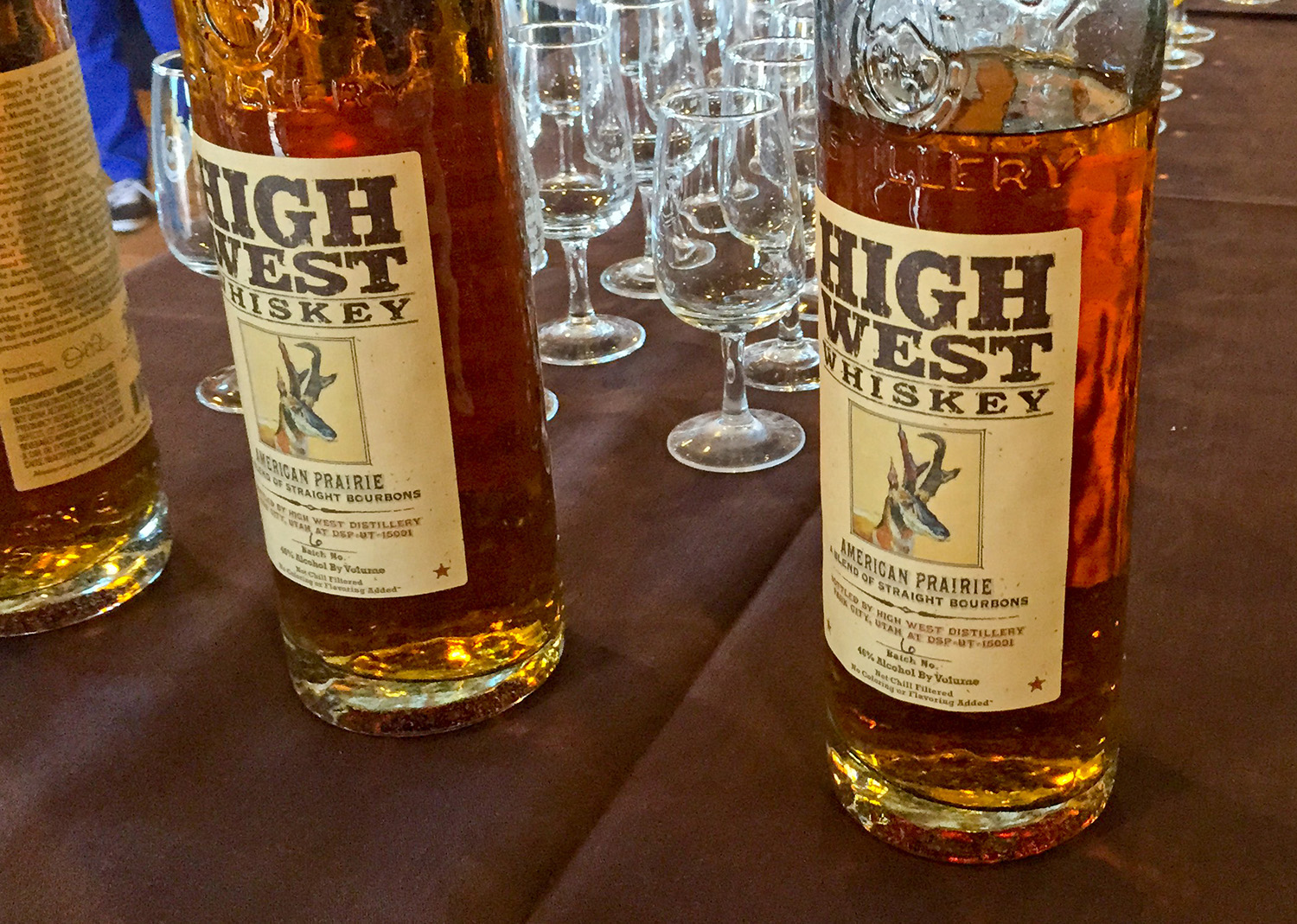 High West Whiskey American Prairie, a bourbon whiskey.