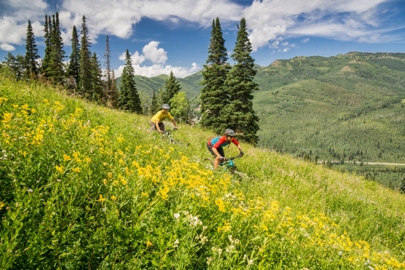 MTB Riding at Solitude Mountain Resort. (Photo courtesy: Solitude Mountain Resort.)