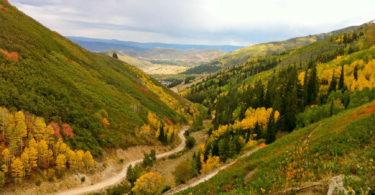 Looking east from Ambush Trail on the Rob's Ambush Loop