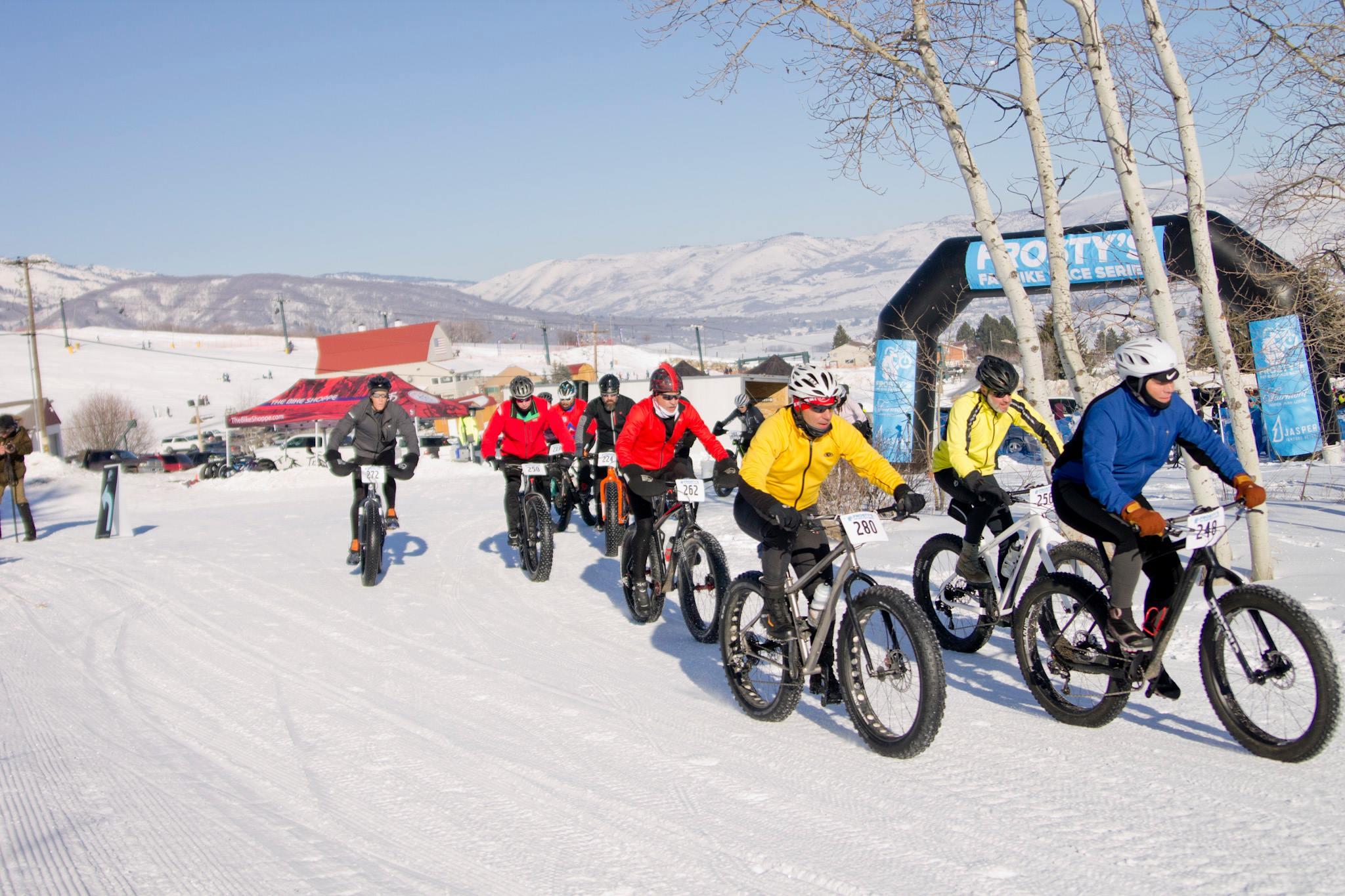 Frosty's Fat Bike Race