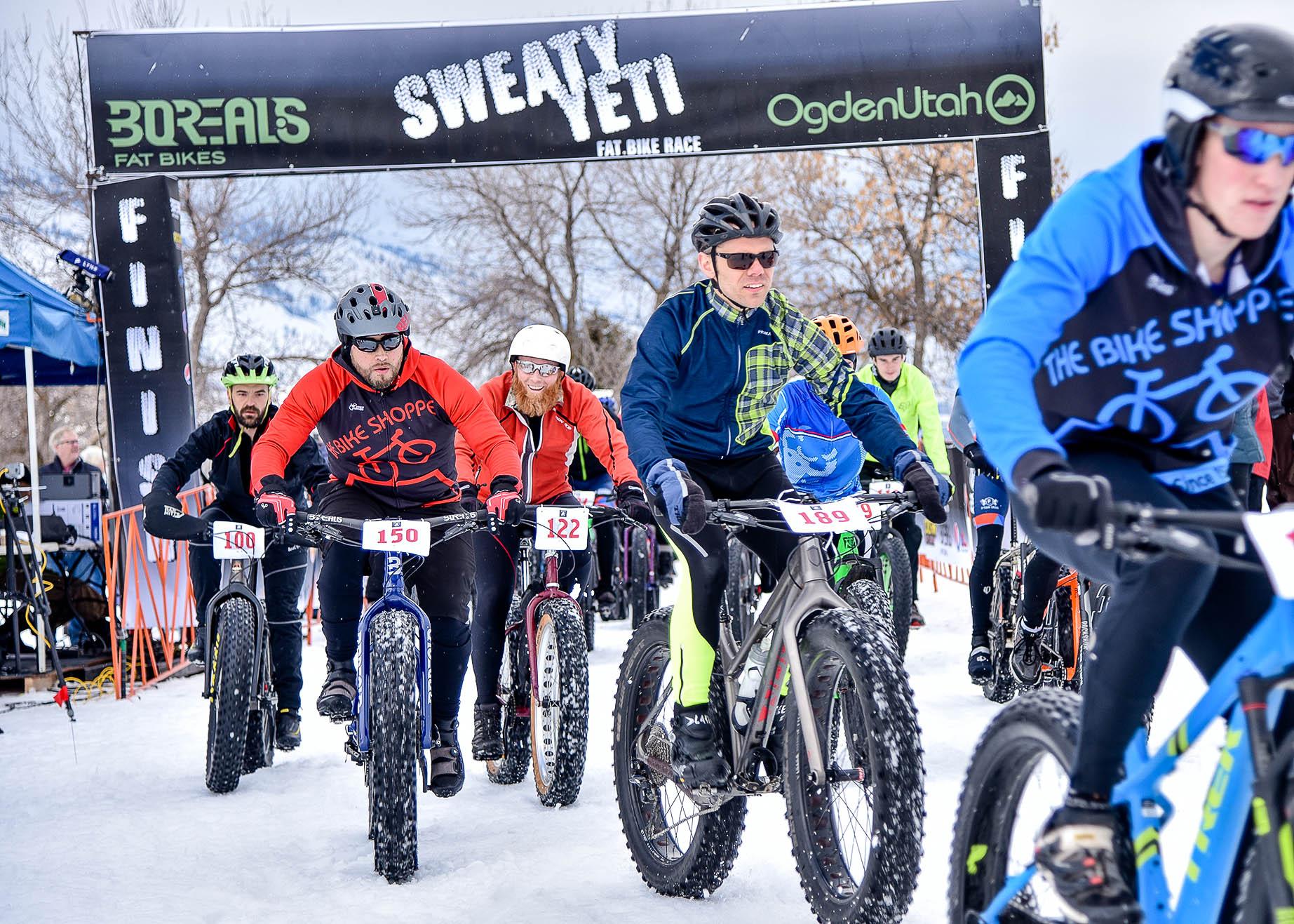 Sweaty Yeti Fat Bike Race
