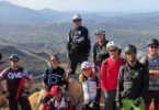 San Diego Mountain Bike Association (SDMBA) on a group ride.