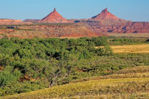 Photo of Sixshooter Peaks in Bears Ears National Monument
