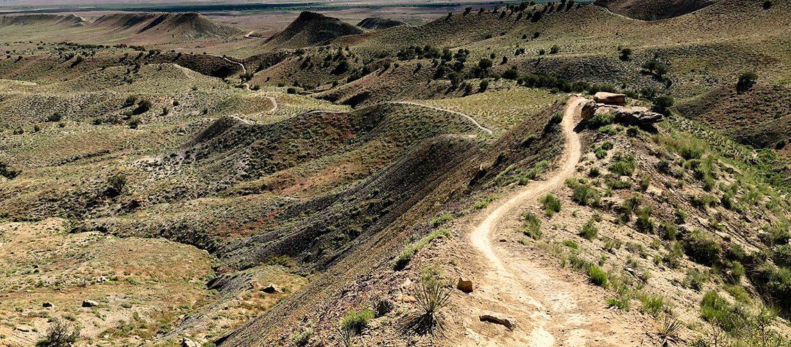 Photo of Joe's Ridge Trail, in the 18 Road trail network of Fruita, COlorado