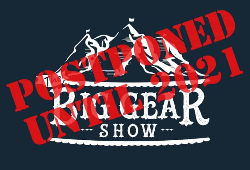 Big Gear Show Postponed until 2021