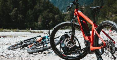 Image of an ebike mountain bike